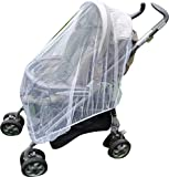 Mosquito Nets 4 U Baby Infant Insect Net for Pushchairs, Buggies, Baby Car Seats, Moses Basket, Prams and Travel Cots