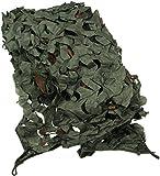 normani Camonet Tarnnetz 1 x 3 m und 3 x 2 m inkl. Tasche Farbe Oliv Größe 1X3M