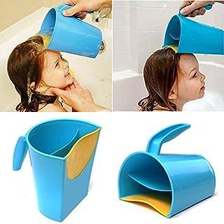 AJS LTD ® SAVEA Kids Shampoo Rinse Cup Baby Care Product Water Spoon,Waterfall Baby Bath Cup Wash Hair Rinsing Cup Water Jug