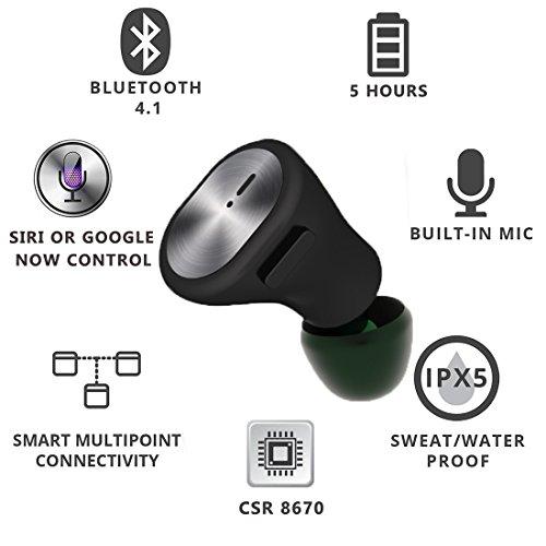 Cuffie Wireless Mini Auricolari Bluetooth Senza Fili 4 d18dd85f0895