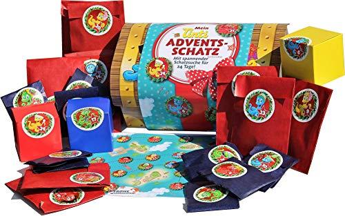 Tinti Adventsschatz Adventskalender mit spannender Schatzsuche