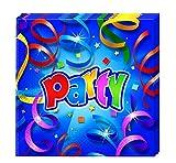 Procos 08805 2-lagige Party Papierservietten, 33 cm x 33 cm