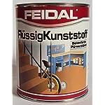 Feidal Flüssigkunststoff, zum Versiegeln und Beschichten von Betonböden, Farbton: Anthrazitgrau RAL 7016 / 750 ml