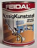 Feidal Flüssigkunststoff, zum Versiegeln und Beschichten von Betonböden, Farbton: Graubeige RAL 1019 / 2,5 Liter