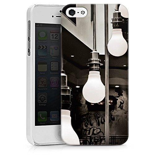 Apple iPhone X Silikon Hülle Case Schutzhülle Hängelampen Lampen Licht Hard Case weiß