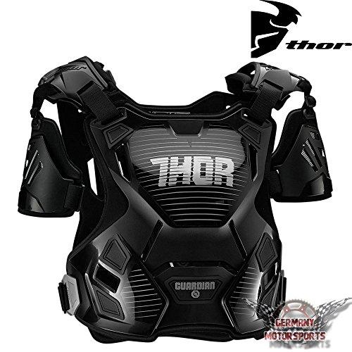 Thor donne Motocross Armatura Pettorale Guardian Nero MX Protektor per Offroad