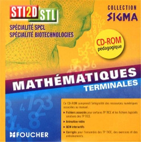 Sigma Mathématiques Tle Bac STI2D - STL CD-ROM