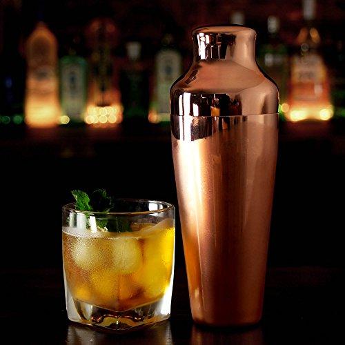 Mezclar versilberter Cocktail-Shaker aus Kupfer 500ml
