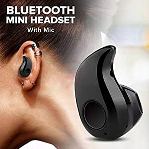ASGTRADE Mini S530 Stereo Bluetooth 4.1 Headset Earphone Earbud for All Smartphones (Black)