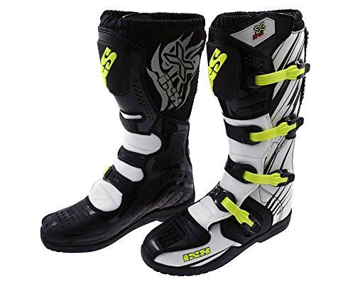 Preisvergleich Produktbild Offroad-Stiefel aus Mikrofaser IXS XP-S2 weiss-schwarz Gr.47