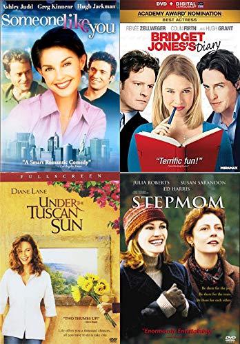 Sooo Much Love - Quadruple Movie Set: Someone Like You + Bridget Jones Tagebuch + Under The Tuscan Sun + Step Mom-DVD Gold
