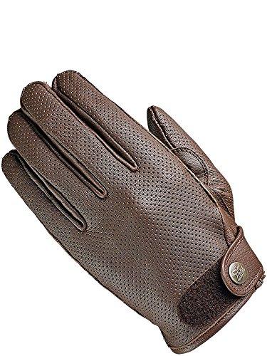 Held Motorradhandschuhe kurz, Motorrad Handschuhe Airea Handschuh braun 12, Herren, Chopper/Cruiser, Sommer, Leder