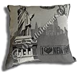 'Funda Colcha Vintage cm 45 x 45 New York ""