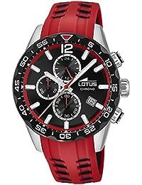 ac15a24cca48 Amazon.es  Lotus - Rojo   Relojes de pulsera   Hombre  Relojes