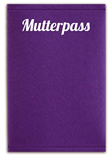 mutterpass filz lila