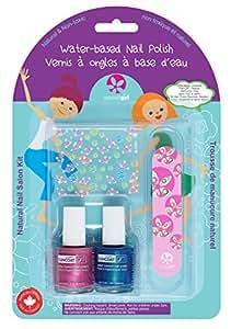 SUNCOAT GIRL Little Mermaid Kit de Manucure pour Enfant