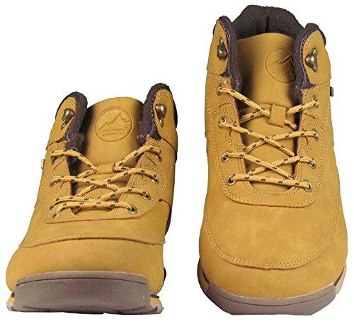 Herren Schuhe - Winterschuhe - gefüttert - Boots - grobes Profil - mehrfarbig Camel