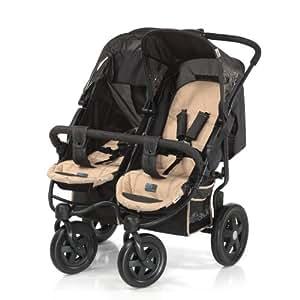 hauck 512134 zwillings und geschwisterwagen roadster duo sl wheel sand baby. Black Bedroom Furniture Sets. Home Design Ideas