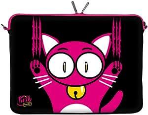 Kitty to Go LS140-11 Designer Neopren Netbook Sleeve bis 29,5 cm (11,6 Zoll)