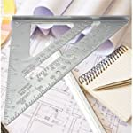 This item:Aluminum Alloy Speed Square Combination Triangle Metric Ruler Carpenter's Protractor Miter Framing US$4.99 + 30cm 12inch Metal Engineers Try Square Set Measurement Tool Right Angle 90 Degrees Ruler US$3.88 Add to Wish List Add to Cart Price...