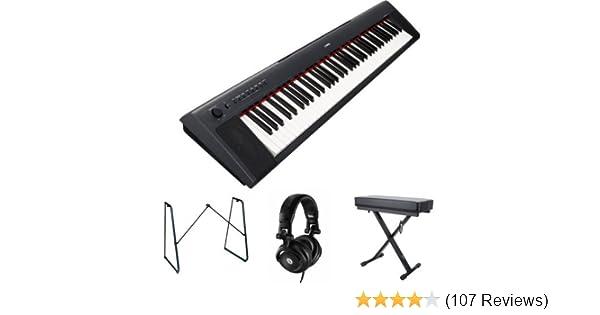 Yamaha NP31 Portable Keyboard Bundle: Amazon co uk: Musical