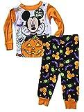 Baby boys Mickey Mouse Two-Piece Halloween Pajamas (12M)