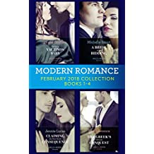 Modern Romance Collection: February 2018 Books 1 - 4: The Secret Valtinos Baby (Vows for Billionaires) / A Bride at His Bidding / The Greek's Ultimate ... (Mills & Boon e-Book Collections)