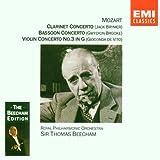 Mozart Concertos Clarinette K.622 Concerto pour violon N°3 Concerto pour basson