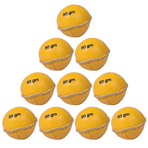 10x Cawila Leder Schlagball Competition, 80g oder 200g (80g)