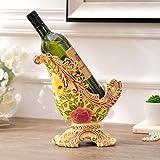 GONGFF Rotweinregal Weinregal Kreative Zuhause Europäischen Stil Ornamente Weinschrank Dekorationen Weiche Dekoration Nach Maß Geschenke