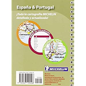 Mini Atlas España & Portugal (Atlas de carreteras Michelin)