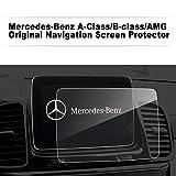 LFOTPP Mercedes Benz A B Klasse AMG 8 Zoll Navigation Schutzfolie - 9H Kratzfest Anti-Fingerprint Panzerglas Displayschutzfolie GPS Navi Folie