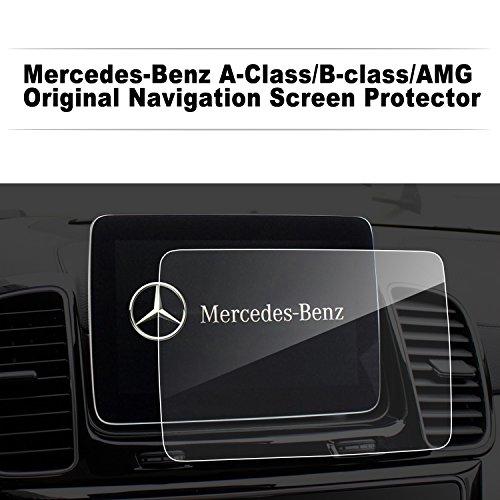 LFOTPP Pellicola Protettiva per Mercedes-Benz Classe A/B Media Sistema di navigazione Protezione Proteggi Schermo - 9H antigraffio Trasparente