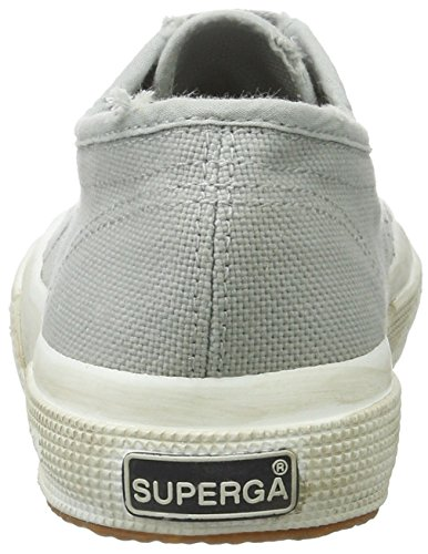 Superga 2750 Cotu Stone Wash, Chaussons Sneaker Adulte Mixte Lt Grey
