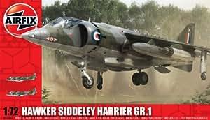 Airfix 1:72 Hawker Siddeley Harrier GR1 Aircraft Model Kit