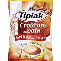 Tipiak - Croûtons de pain, grillés au four - Le paquet de 80g - Prix Unitaire - Livraison Gratuit Sous 3 Jours