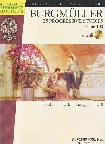 BURGMULLER - Estudios Op.100 para Piano (Inc.CD) (Otwell)