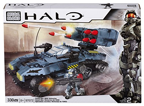 Mattel Mega Bloks 97072 - Halo UNSC Wolverine Covert OP´s Exclusiv-Set