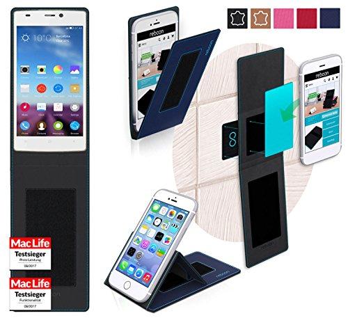 reboon Hülle für Gionee Elife S5.5 Tasche Cover Case Bumper | Blau | Testsieger