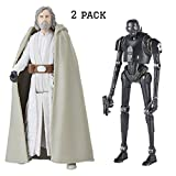 COMICTOYZ Exclusives K-2SO and Luke Jedi Master 3.75 cm Force Link 2.0 2 Pack Solo A Star Wars Story