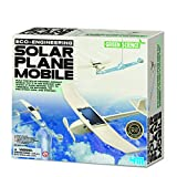 Make Your Own Solar Sunlight Plane Mobile - Inspiring Young Scientists Kit - Popular Educational - Science Toys & Games Gift Present Idea For Birthdays Age 8+ Boys Girls Children Kids