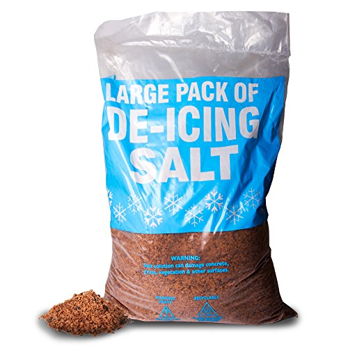 THE CHEMICAL HUT® 25kg Brown De-Icing Rock Salt Anti-Freeze