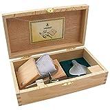 Laguiole 16149-Set Oyster Truyere di Posate, Coltello per ostriche, Acciaio Inox, Argento, 15x 8x 6cm
