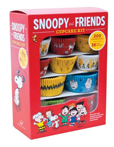 Snoopy and Friends Cupcake Kit: Decorate Your Cupcakes with Your Favorite Peanuts Characters (Baking)