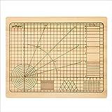 getDigital 11780 Schneidebrett Hochpräzision OCD aus unbehandeltem Buchenholz mit Winkeln und geometrischen Formen 31 x 25 x 2 cm