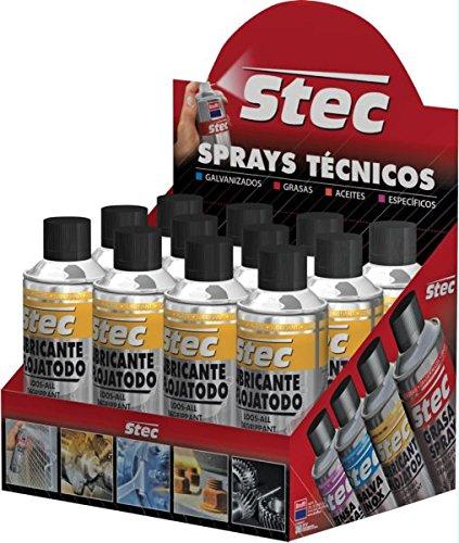 Krafft stec - Aceite lubrificador/ante lube grafito spray 200ml