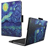 Lenovo Yoga Book Custodia Case- Infiland Slim Folio in pelle Ultra sottile e leggera Case Cover Custodia per Lenovo Yoga Book 25,65cm (10,1 pollici Full HD) 2-in-1 Tablet PC (Stelle)