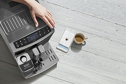 519Y0N5ZEUL - De'Longhi Primadonna S Evo, Fully Automatic Bean to Cup Coffee Machine, Espresso and Cappuccino Maker,Stainless Steel…