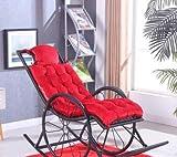 Desy salón silla cojines silla mecedora cojín reposacabezas cojines Fold Pan Mat (no incluir la silla) 7