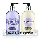 Baylis & Harding French Lavender Hand Wash and Lotion Set